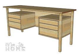 Diy Desk Drawer More Like Home Diy Desk Series 5 Mid Century Inspired Floating