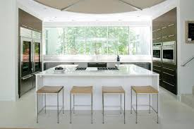 kitchen inspiring modern white kitchen decoration design ideas