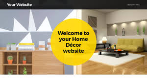 Home Decorating Website Home Décor Website Templates Godaddy