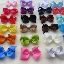 boutique hair bows 30pcs lot 2 95 boutique hair bows pigtail bows grosgrain ribbon