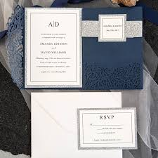 wedding invitations and rsvp affordable wedding invitations with response cards at