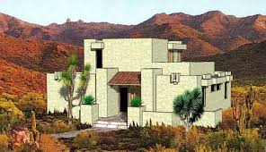 southwestern house plan chp 5671 at coolhouseplans com