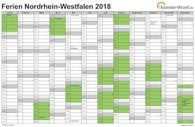 Kalender 2018 Bayern Gesetzliche Feiertage Ferien Nordrhein Westfalen 2018 Ferienkalender Zum Ausdrucken