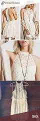 free people ivory lace lost in a dream dress boutique a line