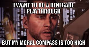 Mass Effect Meme - my largest issue with my mass effect obsession masseffect