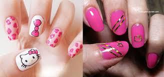 20 easy hello kitty nail art designs ideas u0026 stickers 2014