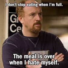 Overeating Meme - the tao of louie vulture