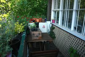 lawn u0026 garden dazzling balcony herb garden ideas with round red