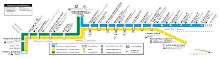 Montclair Campus Map Light Rail Nj Map Tablesportsdirect
