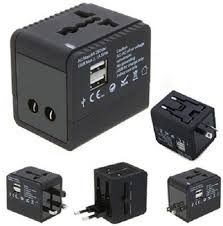 Universal travel adaptor at rs 400 piece nehru street