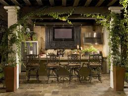 Outside Kitchen Design Ideas Download Outdoor Kitchen And Bar Garden Design