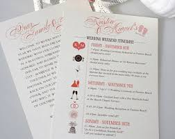 wedding itinerary for guests wedding itinerary wedding itinerary wedding schedule wedding