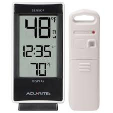 Patio Thermometer by Thermometers U0026 Weather Stations Outdoor Decor The Home Depot