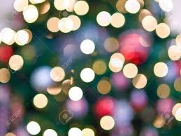 White Christmas Tree Lights White Christmas Tree Lights Abstract For Backgrounds Stock Photo