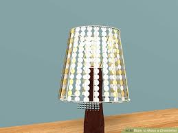 How To Make A Lamp Shade Chandelier 3 Ways To Make A Chandelier Wikihow