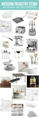 common wedding registry wedding wedding registry essentials what we would register for