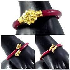 bangle bracelet ebay images Gold plated red pola bangles bracelets beautiful bollywood design jpg