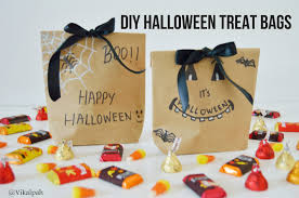 Halloween Wedding Favors Vikalpah Last Minute Halloween Diys Treat Bags U0026 Decor Ideas