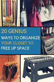 20 closet organization ideas to help you create more space