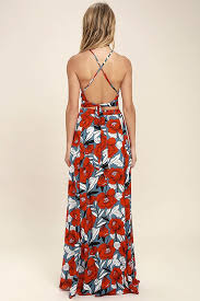 light blue floral maxi dress back to your roots red floral print two piece maxi dress maxi dresses