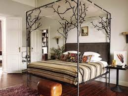 Iron Canopy Bed Iron Canopy Bed Frame Homesfeed