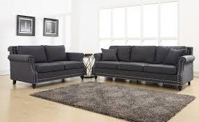 camden grey linen sofa tov furniture modern manhattan
