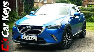 mazda small cars 2016 mazda cx 3 4k 2016 review car keys youtube