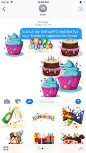 birthday stickers birthday stickers animated on the app store