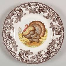spode woodland selection gorgeous turkey motifs at replacements ltd