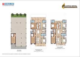 Royal Castle Floor Plan by Omaxe Celestia Royal