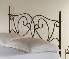 Schlafzimmer Mit Metallbett Romantisches Metallbett In Weiß 140x200 Cm San Pedro