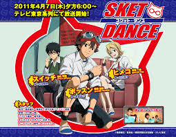 sket dance anime sket dance project cottontail