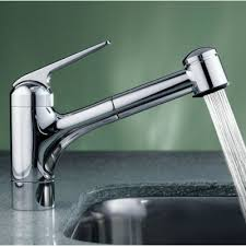 kwc kitchen faucets kwc 10061033000 domo polished chrome pullout spray kitchen kwc