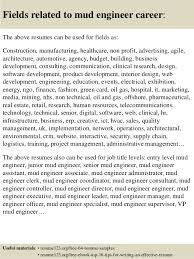 Resume Sample Engineer by Top 8 Mud Engineer Resume Samples