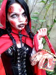 Makeup Ideas For Halloween Costumes by Zombie Red Riding Hood By Lady Muffin On Deviantart Halloween