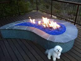 Glass Firepits Pit Beautiful Pits With Glass Stones Beautiful