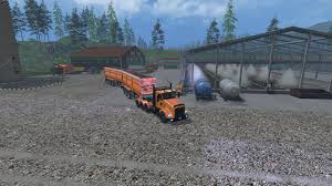 kw truck equipment kenworth t800 v1 2 truck farming simulator 2015 15 mod