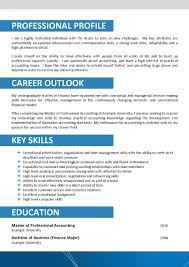 Resume Profile Sample Australian Resume Format Sample Free Resume Example And Writing