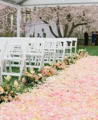 Wedding Aisle Ideas 28 Fabulous Spring Wedding Aisle Décor Ideas Weddingomania