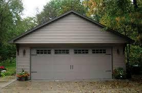 double car garage double garage with designer door house pinterest doors and house