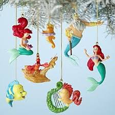 disney s the mermaid storybook ornament set