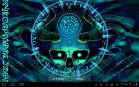mystical halloween background mystical skull live wallpaper android apps on google play