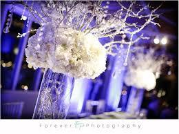 Winter Wonderland Centerpieces by Winter Wonderland Centerpieces Sweet 16 Real Wedding Petal