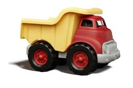 tonka fire truck toy green toys dump truck made safe in the usa