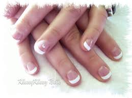 french nails short cute nails