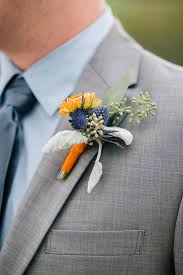 wedding flowers queanbeyan a rustic blue and orange wedding by burns photography