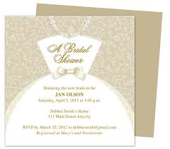 bridal invitation templates bridal shower invitation templates free wedding dress