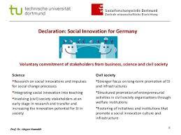 activit des si es sociaux si live closing session jurgen howaldt on german declaration