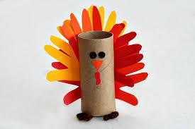toilet paper turkey craft gobble gobble make a paper turkey craft