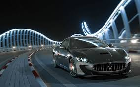 maserati road fantastic maserati ghibli car night road wallpaper cars